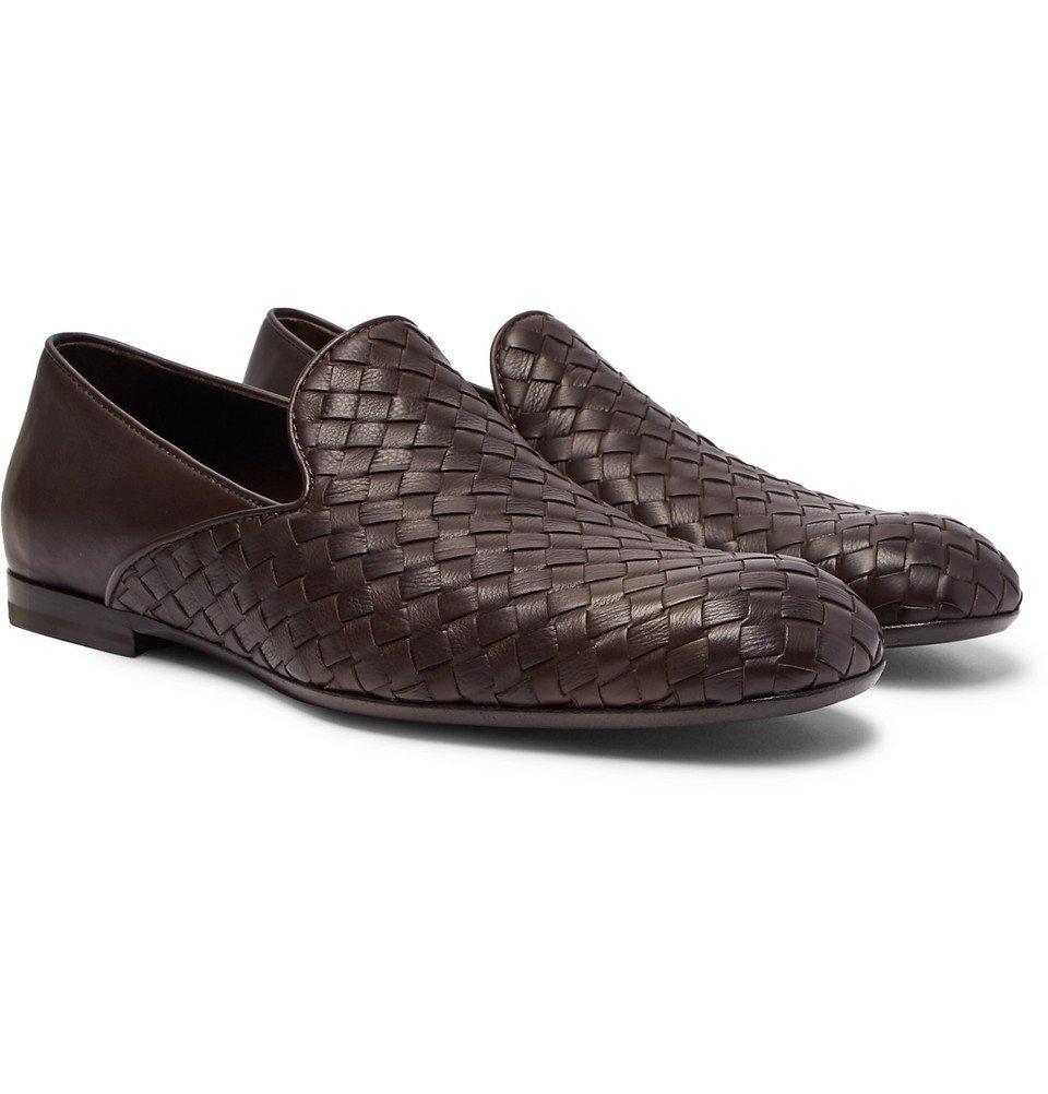 Photo: Bottega Veneta - Intrecciato Leather Loafers - Men - Brown