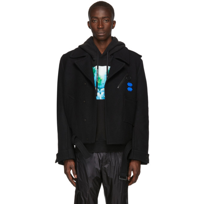 Photo: Off-White Black Arrow Peacoat