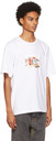 Diesel White T-Tubolar-B2 T-Shirt