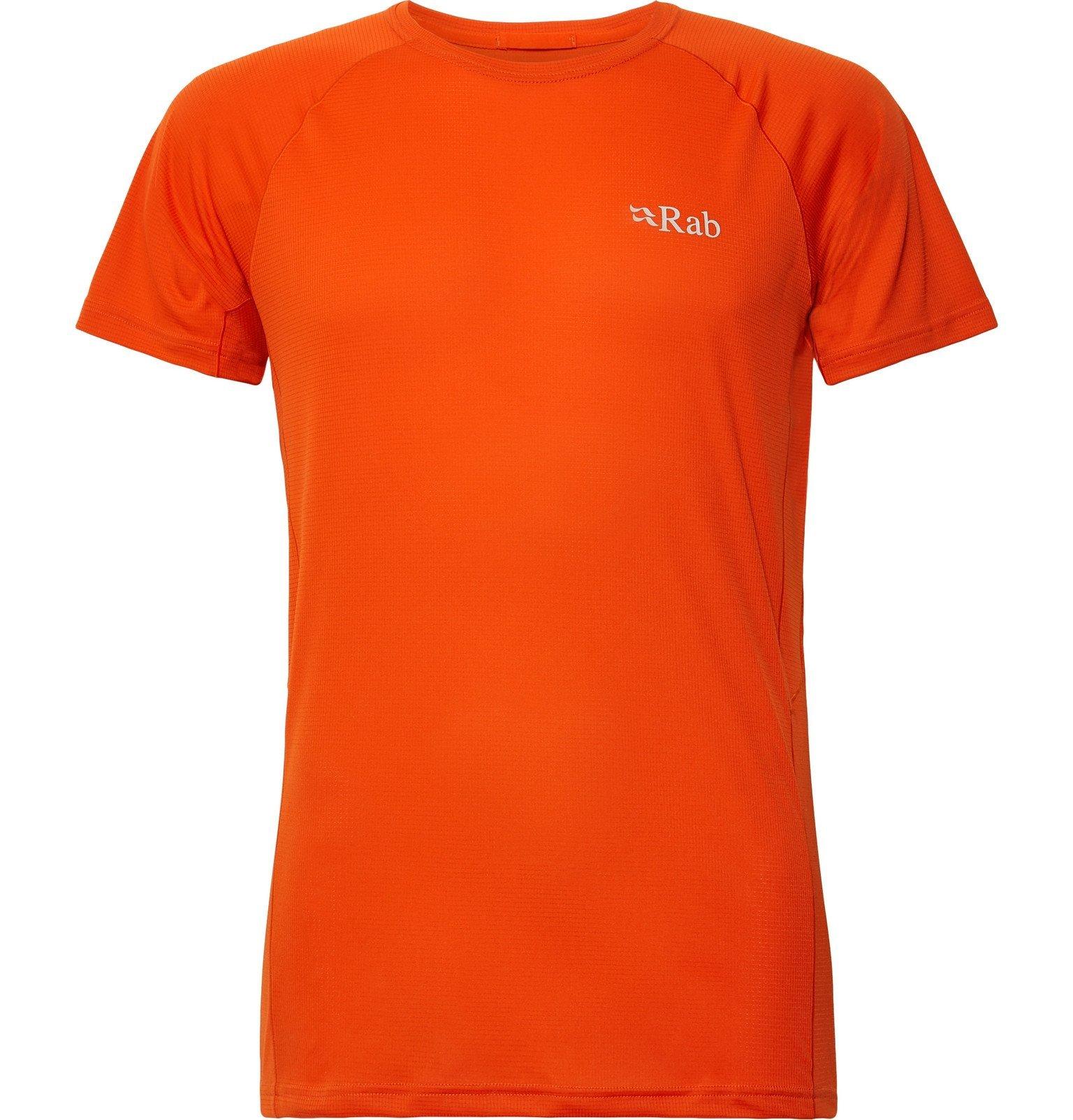 Photo: Rab - Pulse Motiv T-Shirt - Orange