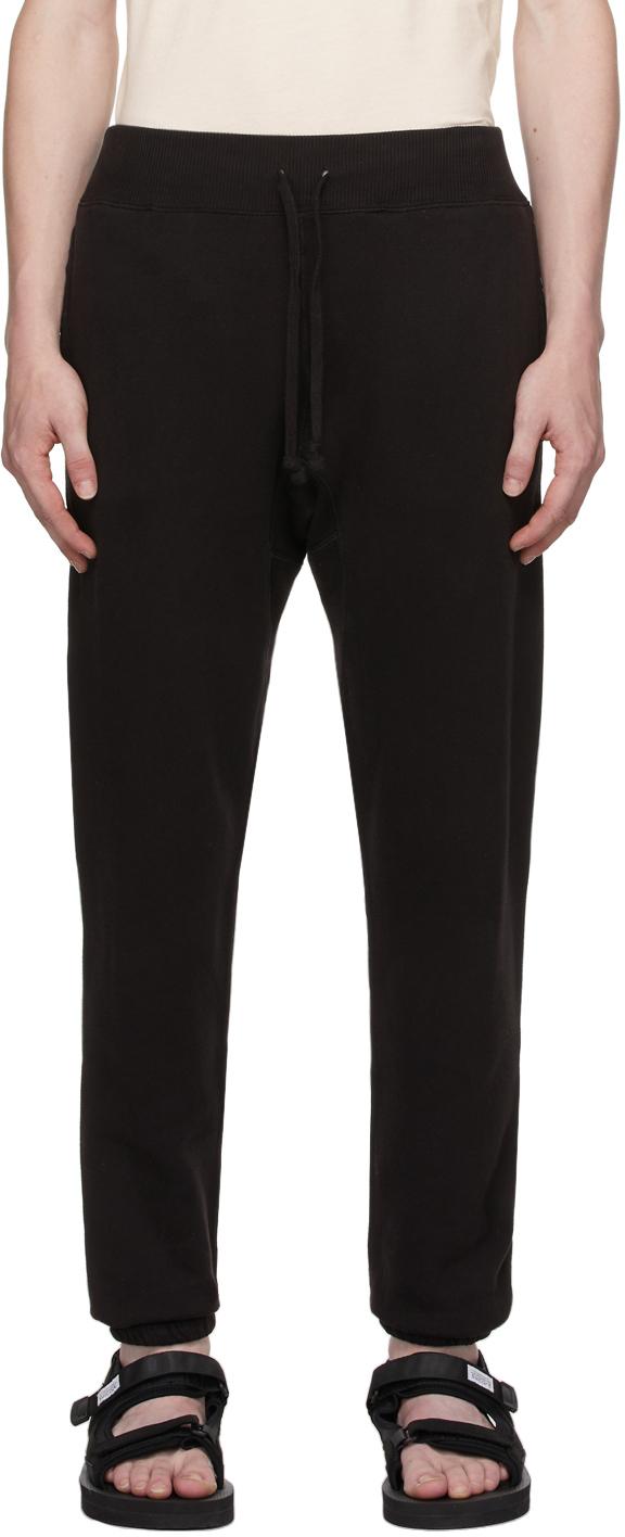 Photo: RRL Black Fleece Lounge Pants