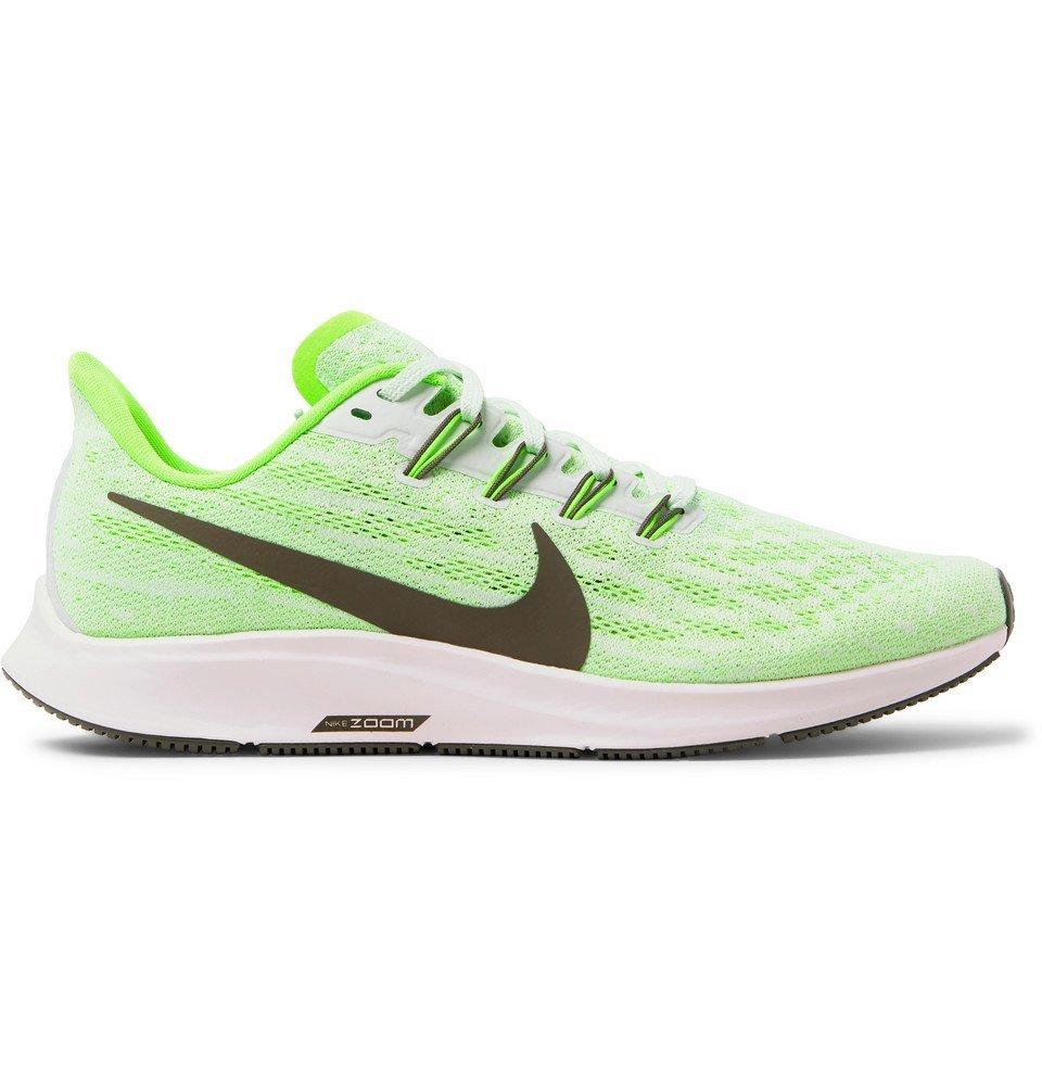 Nike Running - Air Zoom Pegasus 36 Mesh Running Sneakers - Green