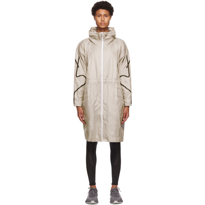Photo: adidas by Stella McCartney Taupe Packable Lightweight Parka