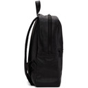 Common Projects Black Leather Simple Backpack