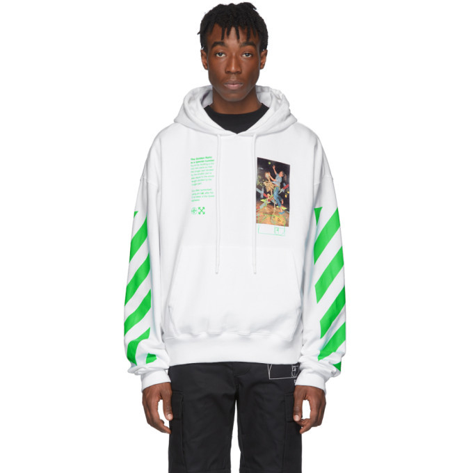 Photo: Off-White White Pascal Painting Hoodie