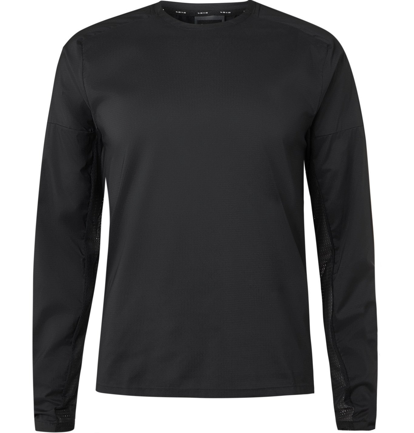 Nike Running - Tech Pack Perforated Stretch-Jersey T-Shirt - Black