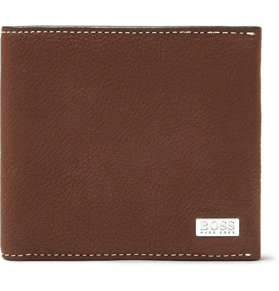 Photo: Hugo Boss - Crosstown Full-Grain Leather Billfold Wallet - Tan