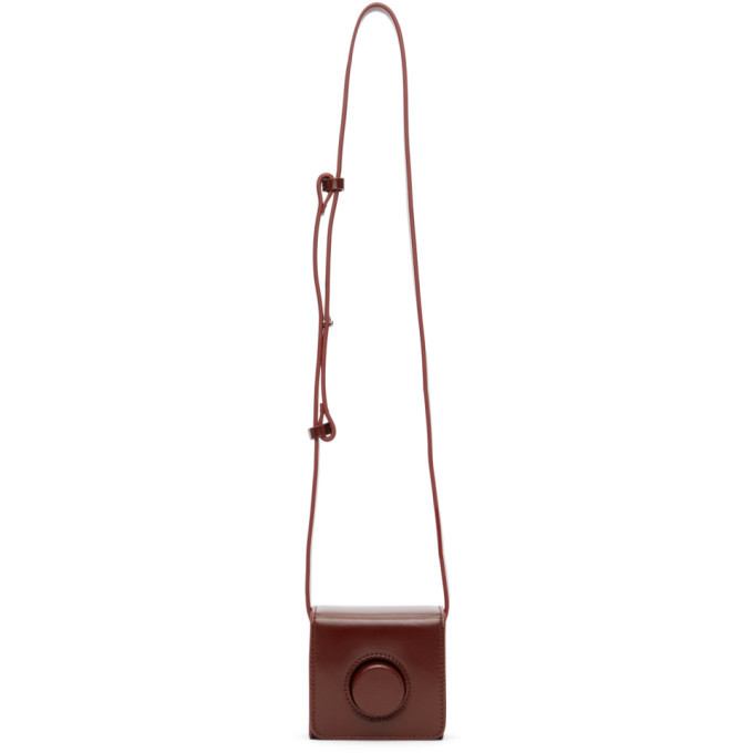 Photo: Lemaire Red Mini Camera Bag