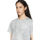 Stella McCartney White Embossed Logo T-Shirt