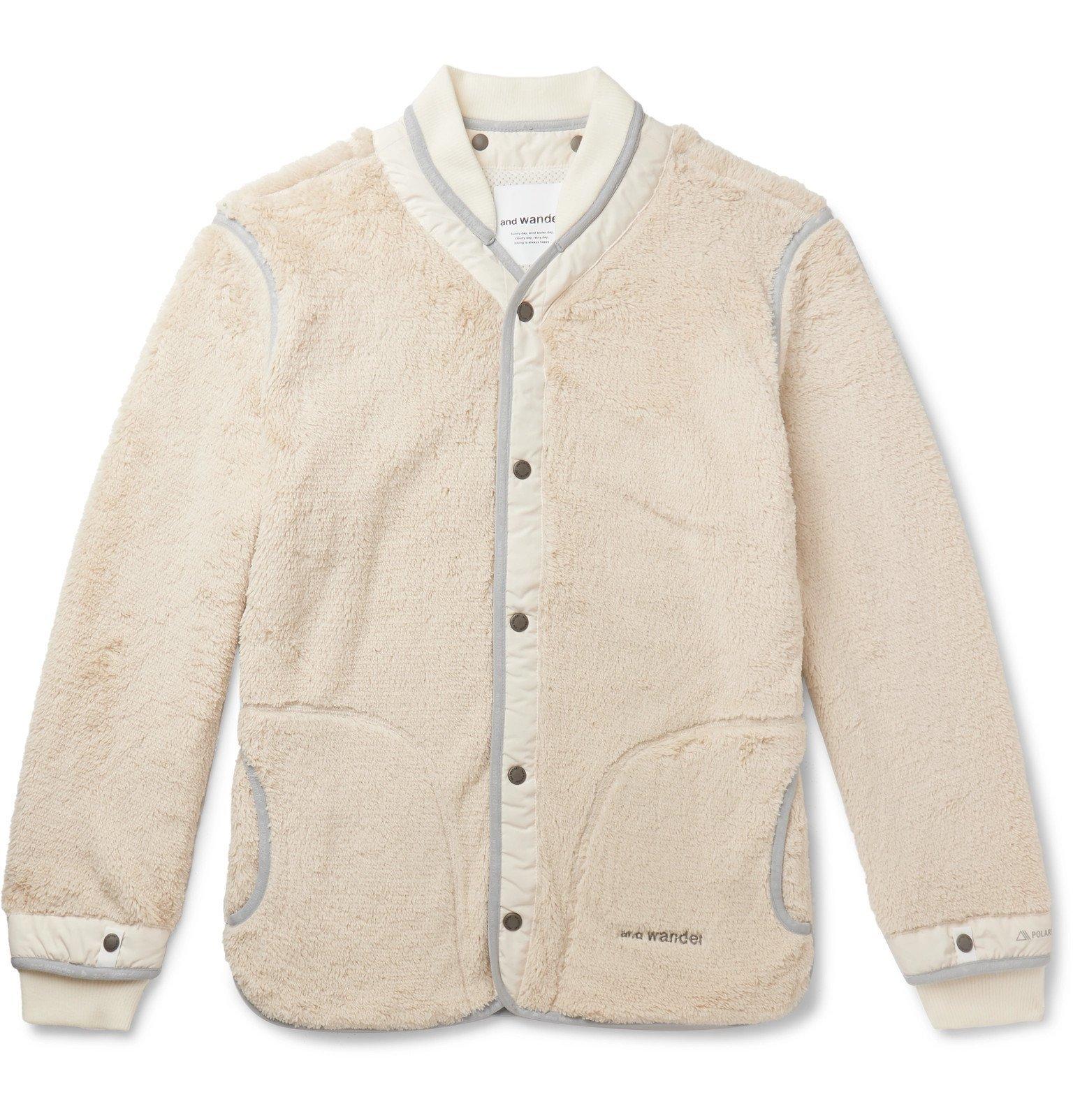 Photo: And Wander - Slim-Fit Polartec Fleece Jacket - Neutrals