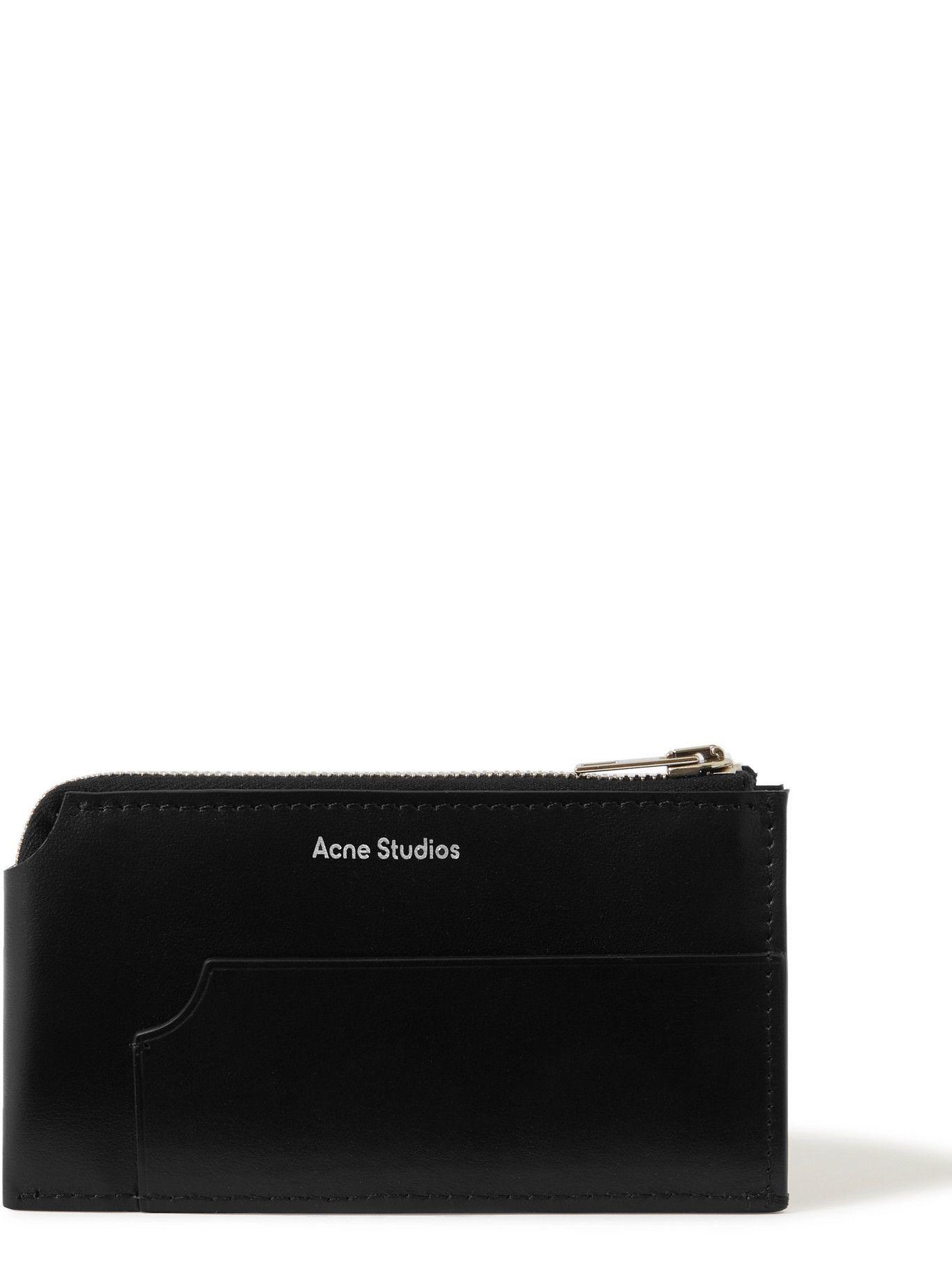 Photo: Acne Studios - Leather Zip-Around Wallet