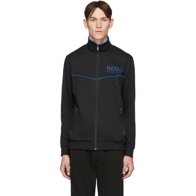 Photo: Boss Black Tracksuit Zip-Up Sweater