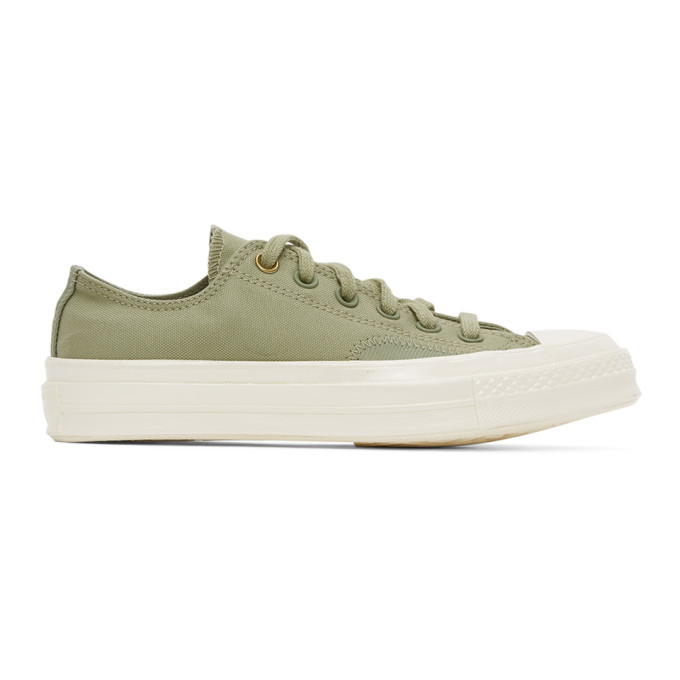 Photo: Converse Green Clean N Preme Chuck 70 Ox Sneakers
