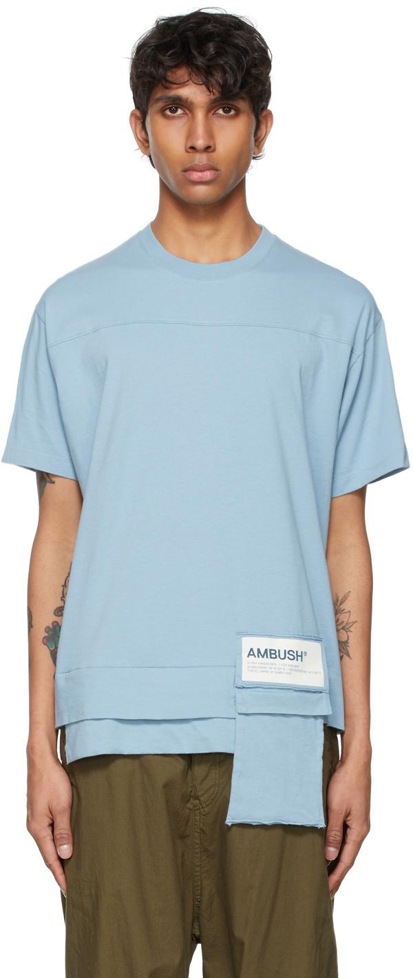 Photo: Ambush Blue Packable New Waist Pocket T-Shirt