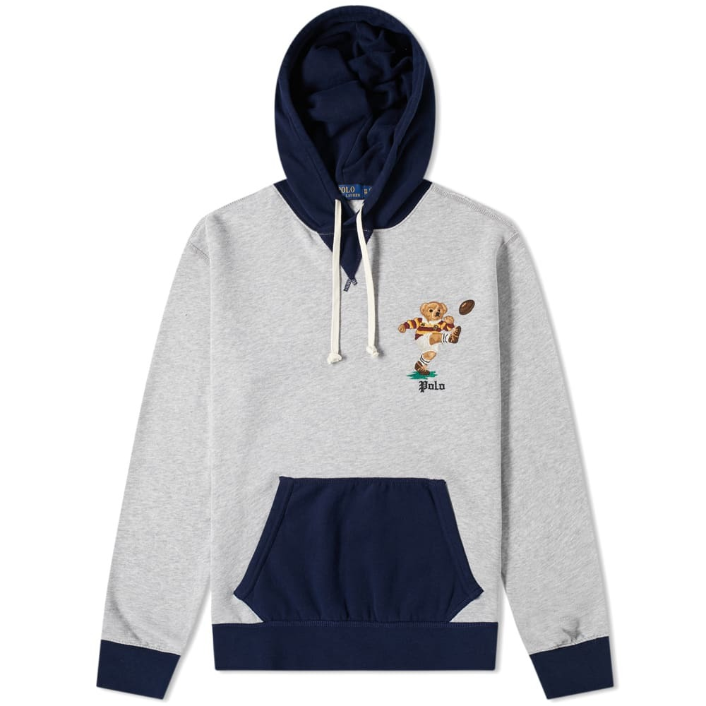 Photo: Polo Ralph Lauren Bear Rugby Popover Hoody