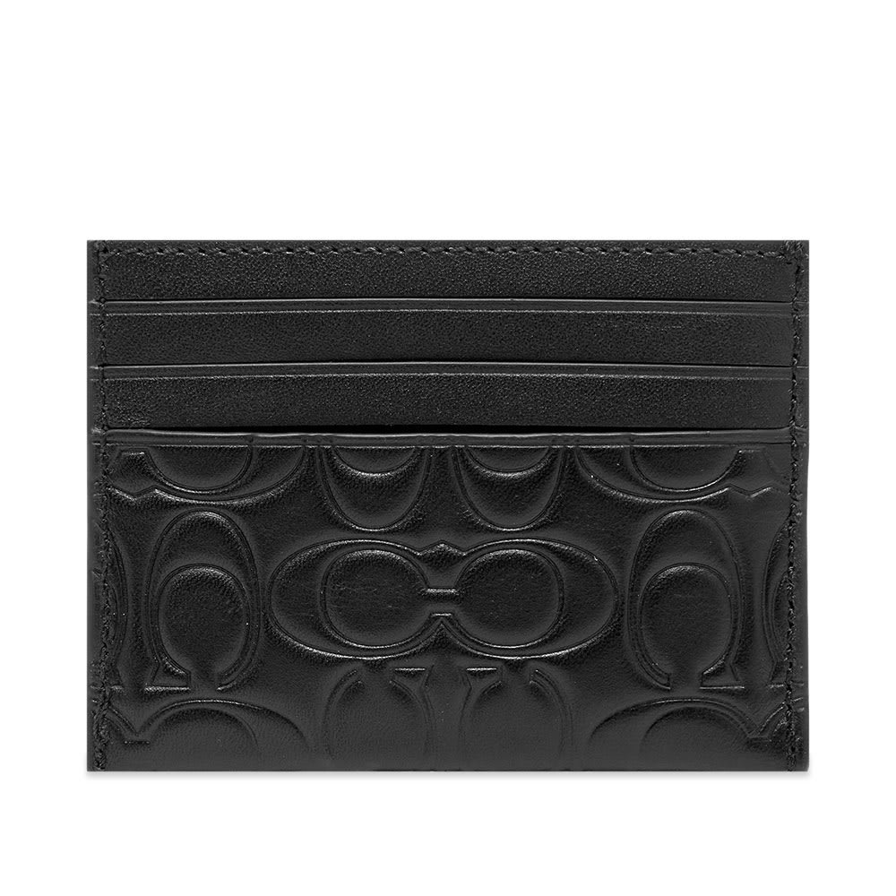 Photo: Coach Embossed Leather Card Holder