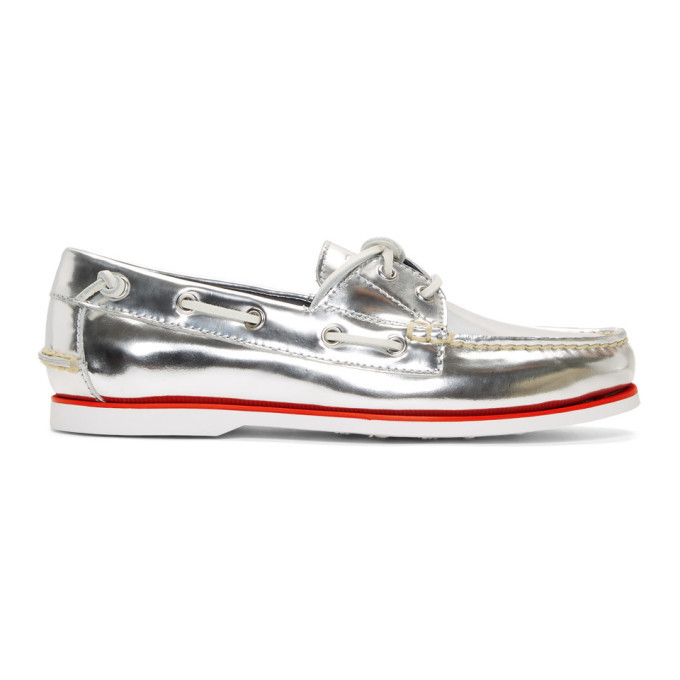 Photo: Polo Ralph Lauren Silver Patent Merton Loafers