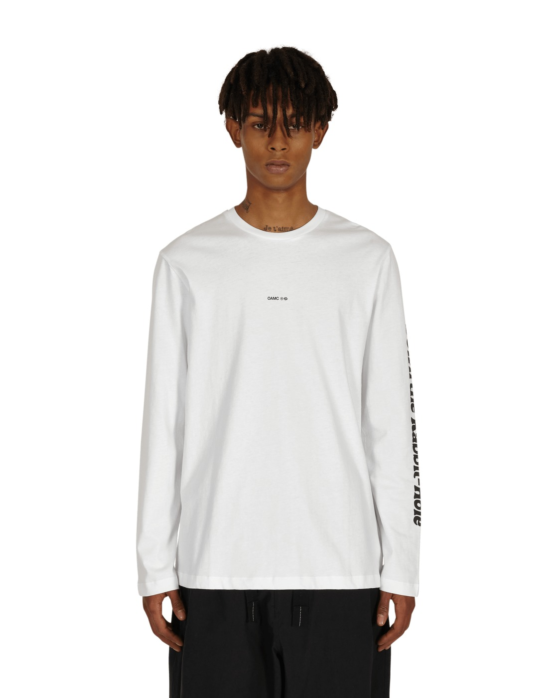 Photo: Oamc Rabbit Longsleeve T Shirt White