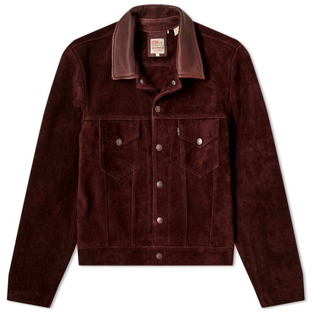 Photo: Levi's Vintage Clothing Suede Trucker Jacket