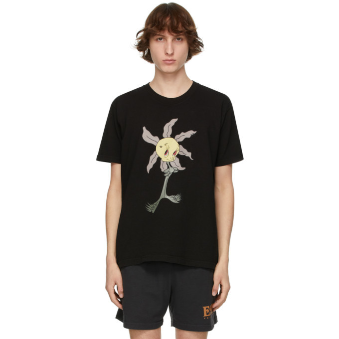 EDEN power corp Black Wretched Flowers Edition Lil Wretched T-Shirt