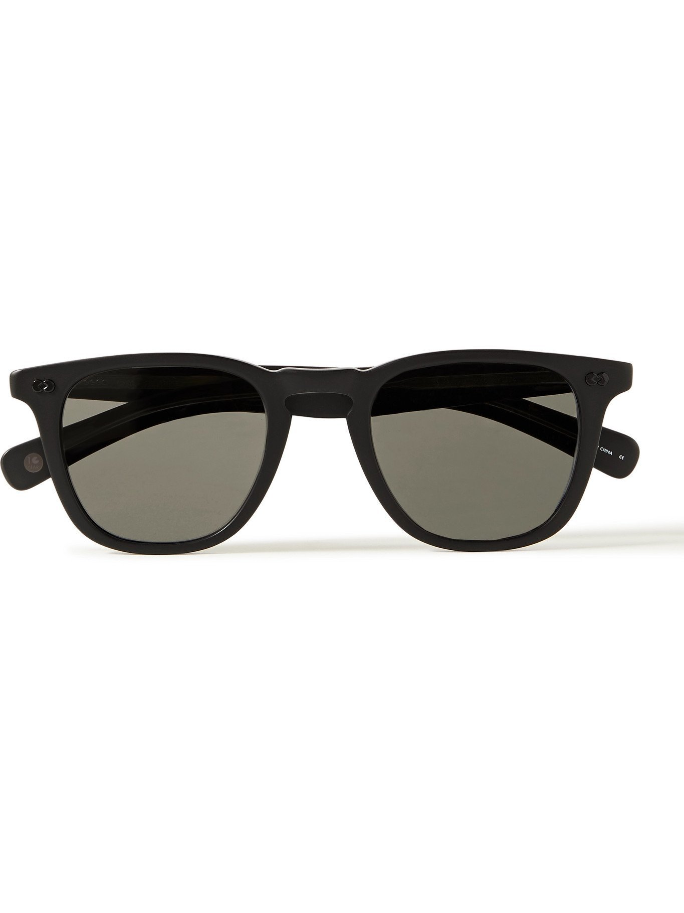 Photo: GARRETT LEIGHT CALIFORNIA OPTICAL - Brooks X D-Frame Matte-Acetate Sunglasses