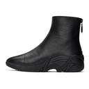 Raf Simons Black Cyclon Zip-Up Boots