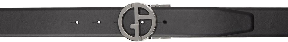 Photo: Giorgio Armani Reversible Black & Tan Two-Toned Belt