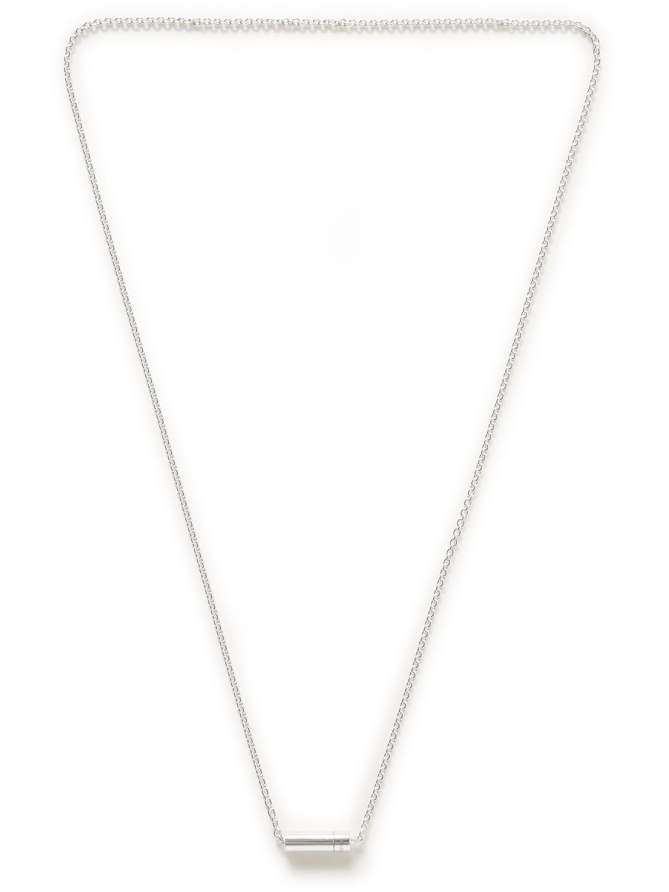 Photo: LE GRAMME - 13g Sterling Silver Chain Necklace - Silver