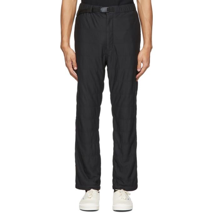 Photo: Snow Peak Black Flexible Insulated Trousers