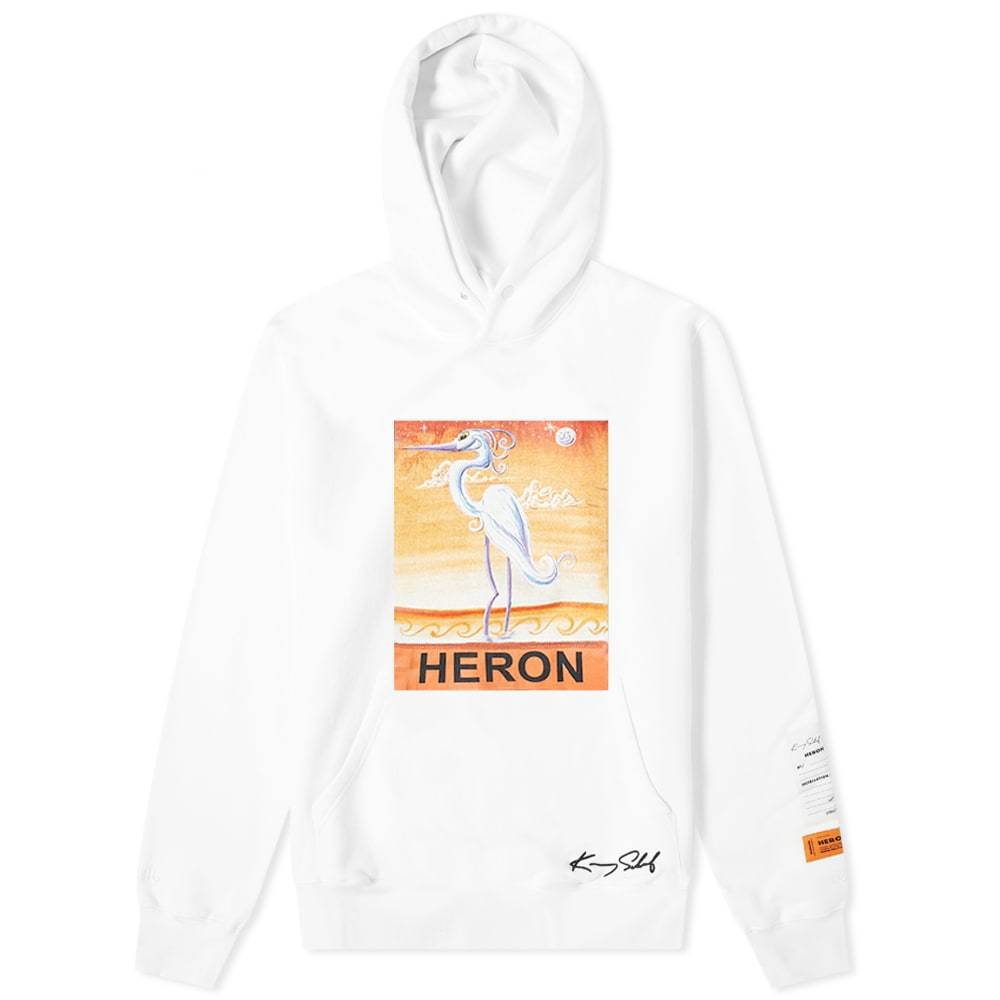Photo: Heron Preston KS Heron Popover Hoody