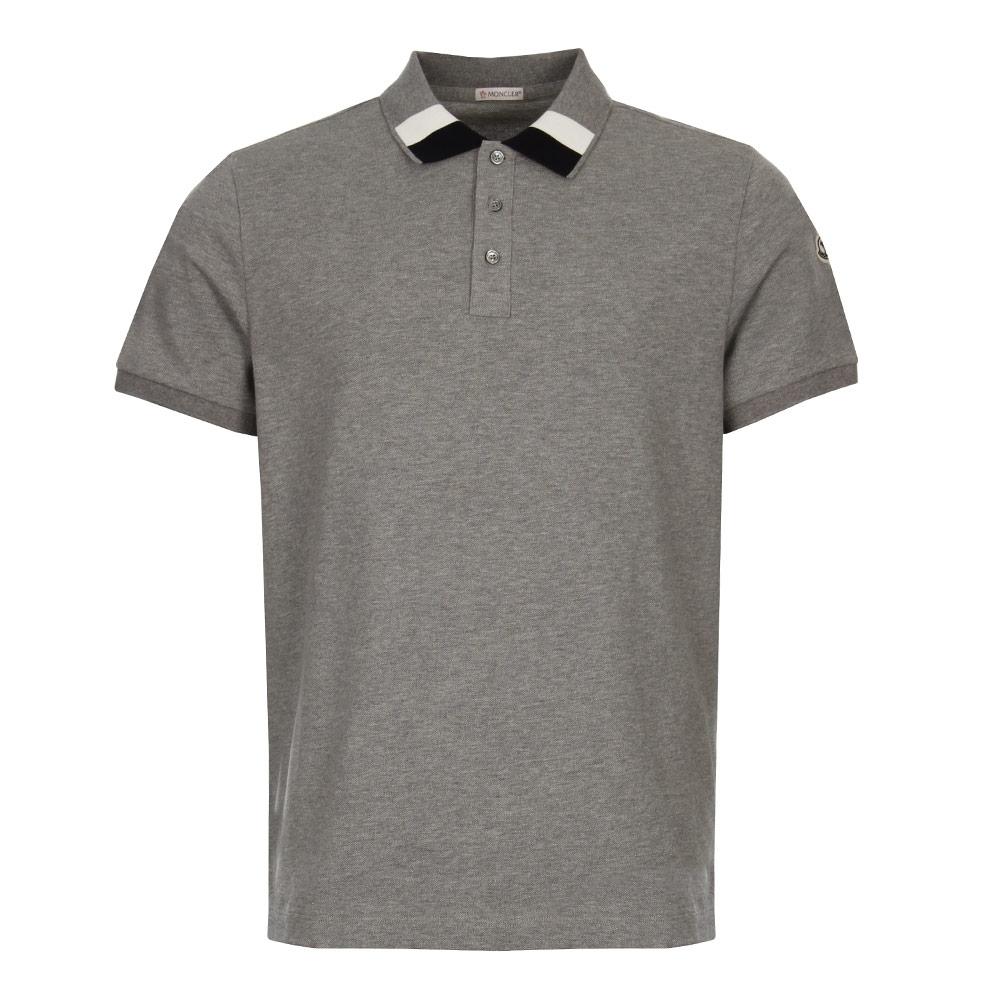 moncler grey polo
