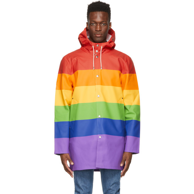 Photo: Stutterheim Multicolor Stockholm Vladimir Raincoat