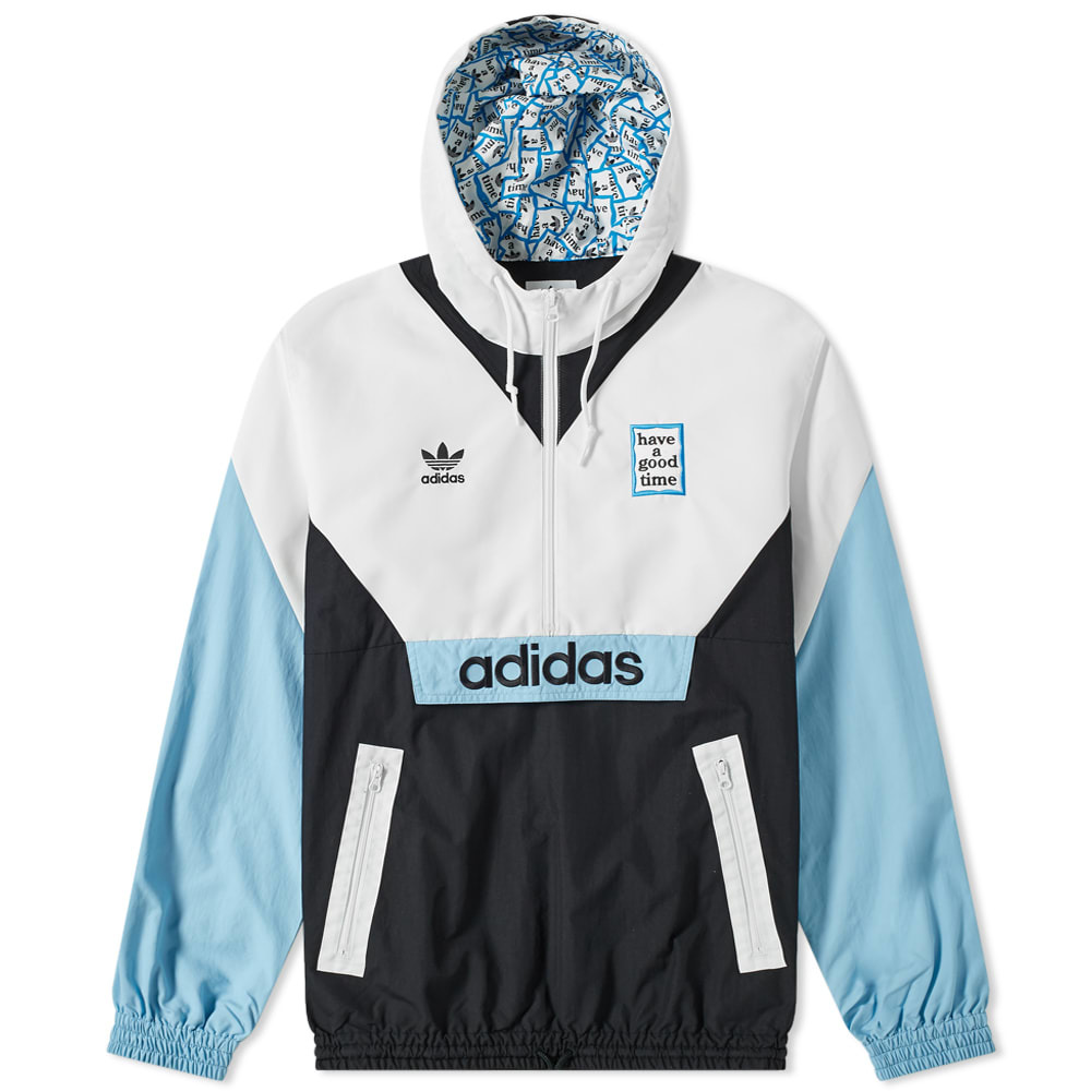 Photo: Adidas x Have A Good Time Windbreaker