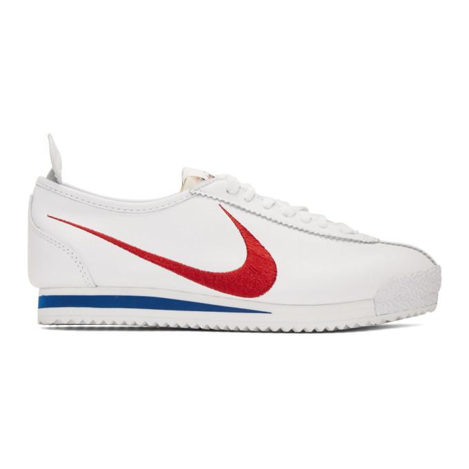Photo: Nike White Swoosh Cortez 72 Shoe Dog Pack Sneakers