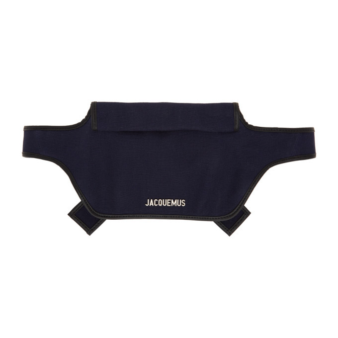 Photo: Jacquemus Navy Le Banane Belt Bag