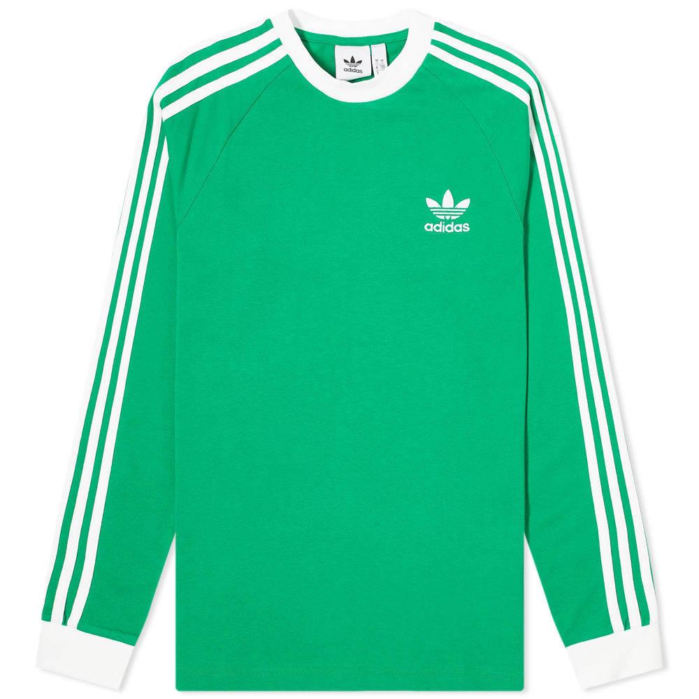 Photo: Adidas 3 Stripe Long Sleeve Tee