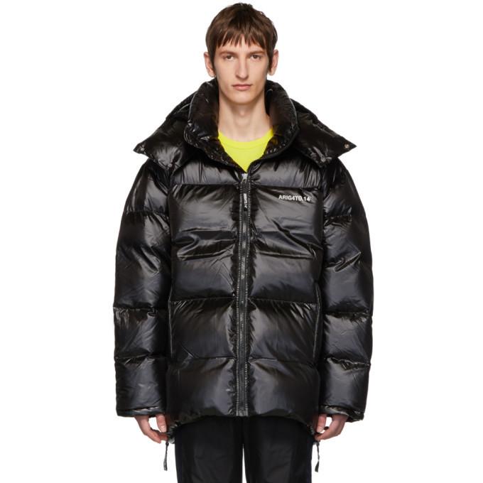 Photo: Axel Arigato Black Down Nunatak Puffer Jacket