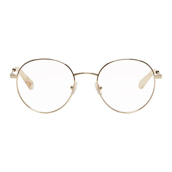 2551ca9a1376 Chloe Gold Palma Glasses Chloe
