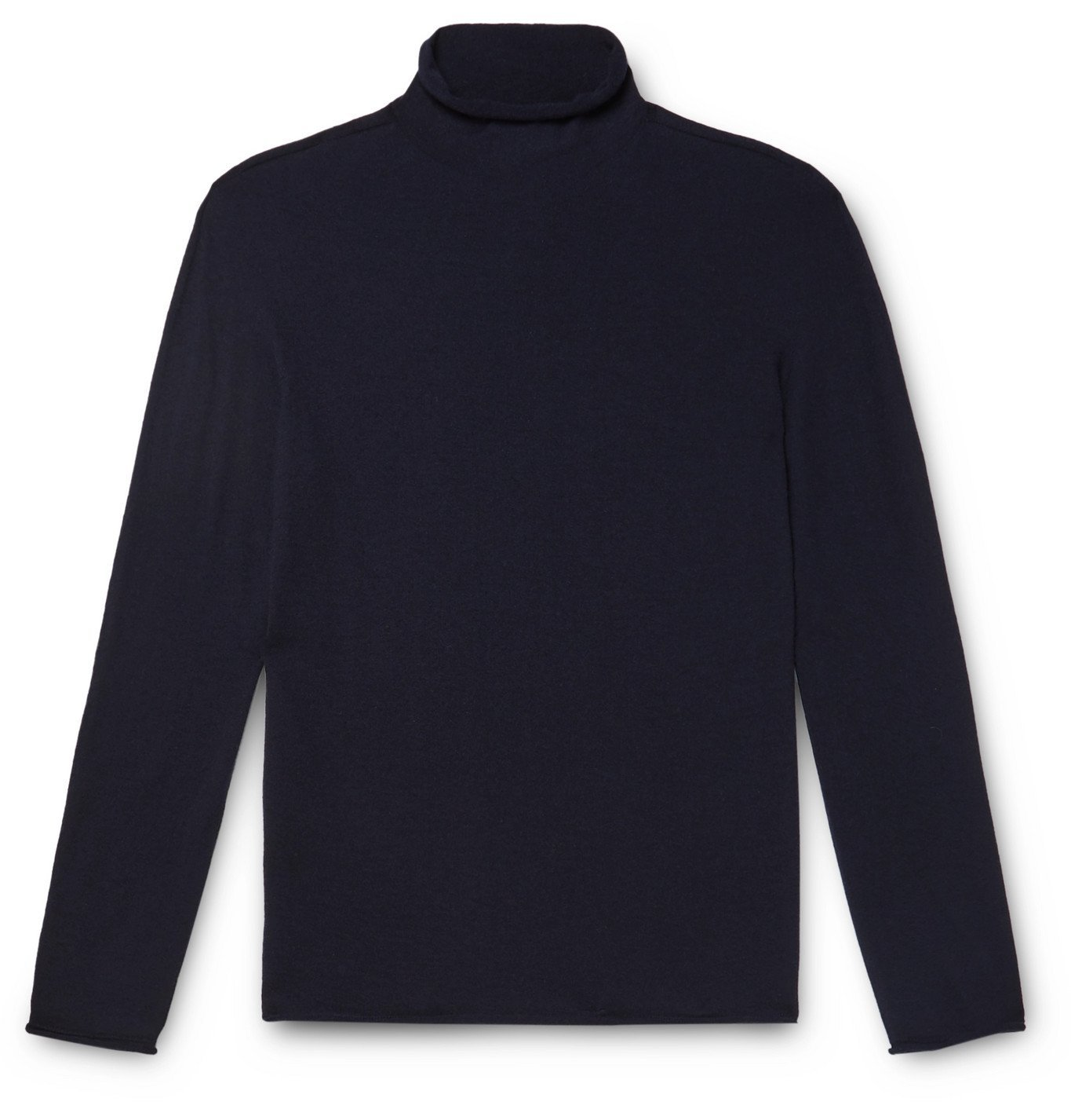Giorgio Armani - Slim-Fit Cashmere-Blend Rollneck Sweater - Blue