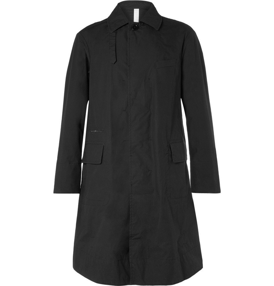 Photo: TAKAHIROMIYASHITA TheSoloist. - Cotton-Canvas Raincoat - Men - Black