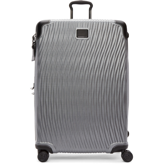 Photo: Tumi Silver Latitude Worldwide Trip Packing Suitcase