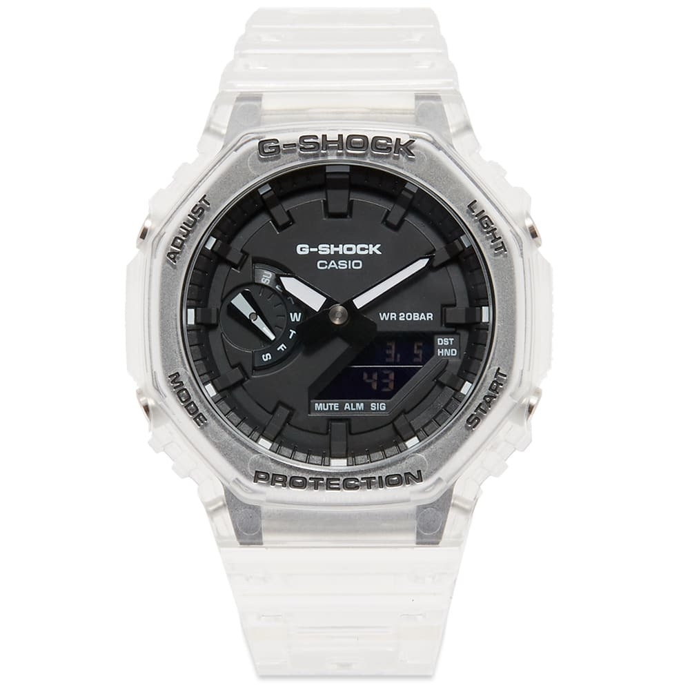 Photo: Casio G-Shock GA-2100 Transparent Watch