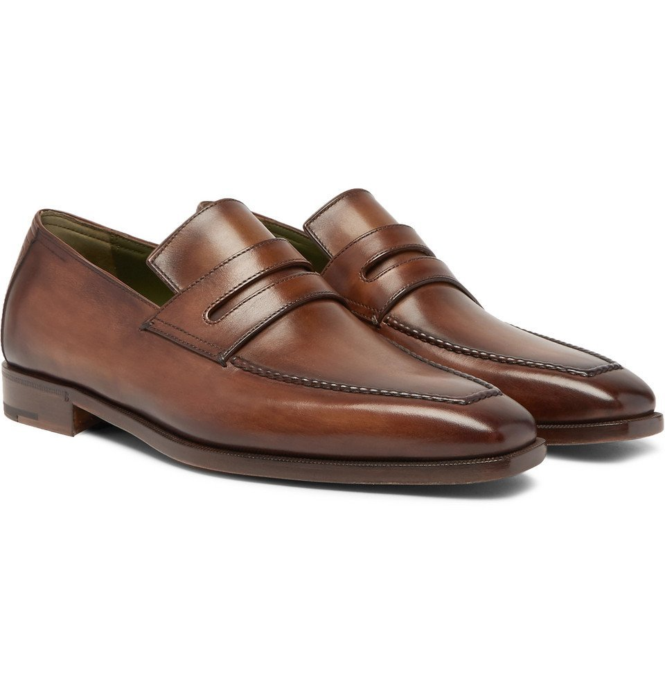 Photo: Berluti - Andy Leather Loafers - Men - Brown
