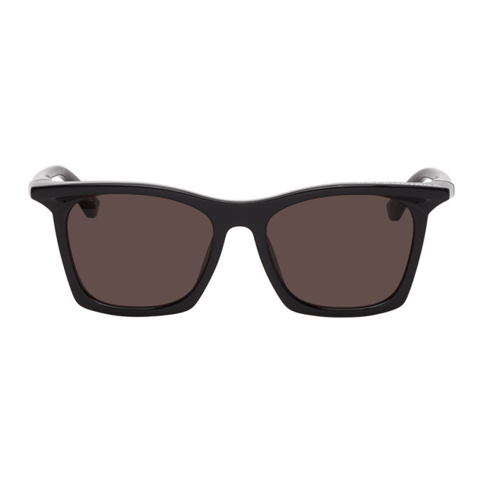 Photo: Balenciaga Black Square Sunglasses