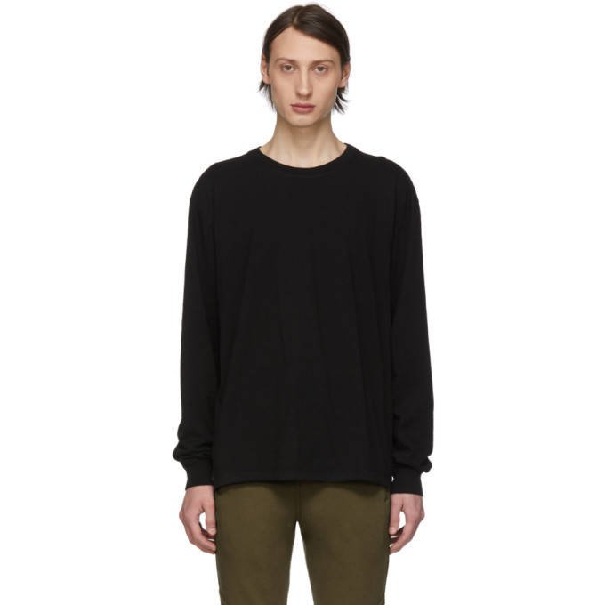 Photo: John Elliott Black Classic Long Sleeve T-Shirt