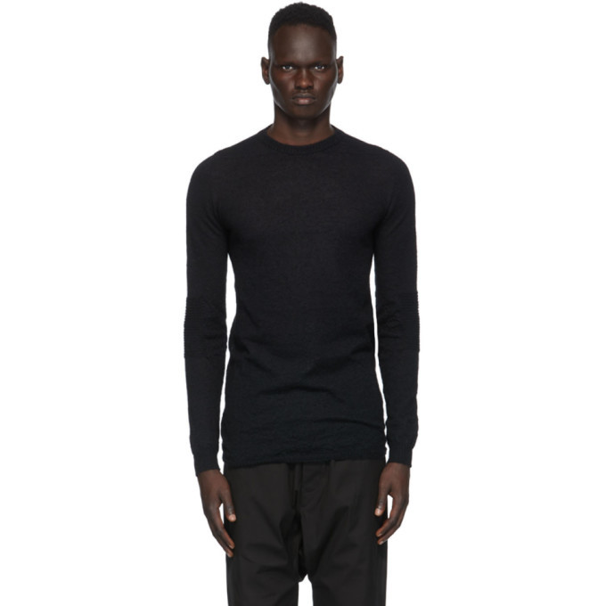 Photo: Rick Owens Black Biker Level Sweater