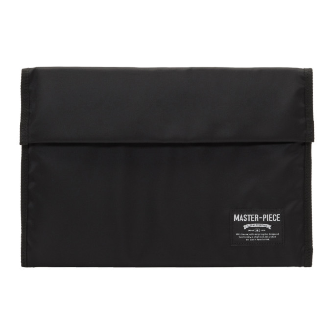 Photo: Master-Piece Co SSENSE Exclusive Black 13 Laptop Case