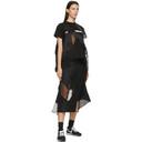 Sacai Black Hank Willis Thomas Edition Mix Skirt