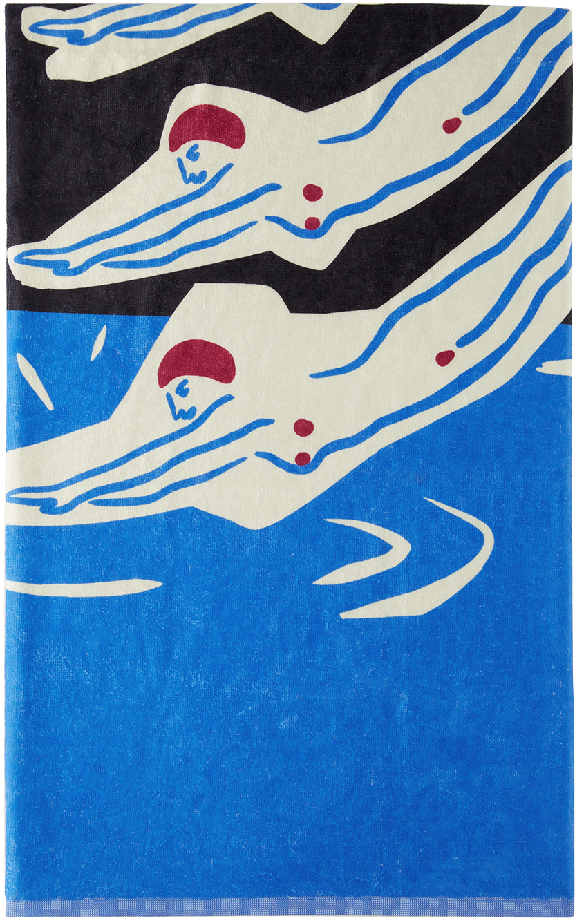 Photo: Carne Bollente Black & Blue Into The Squirt Towel
