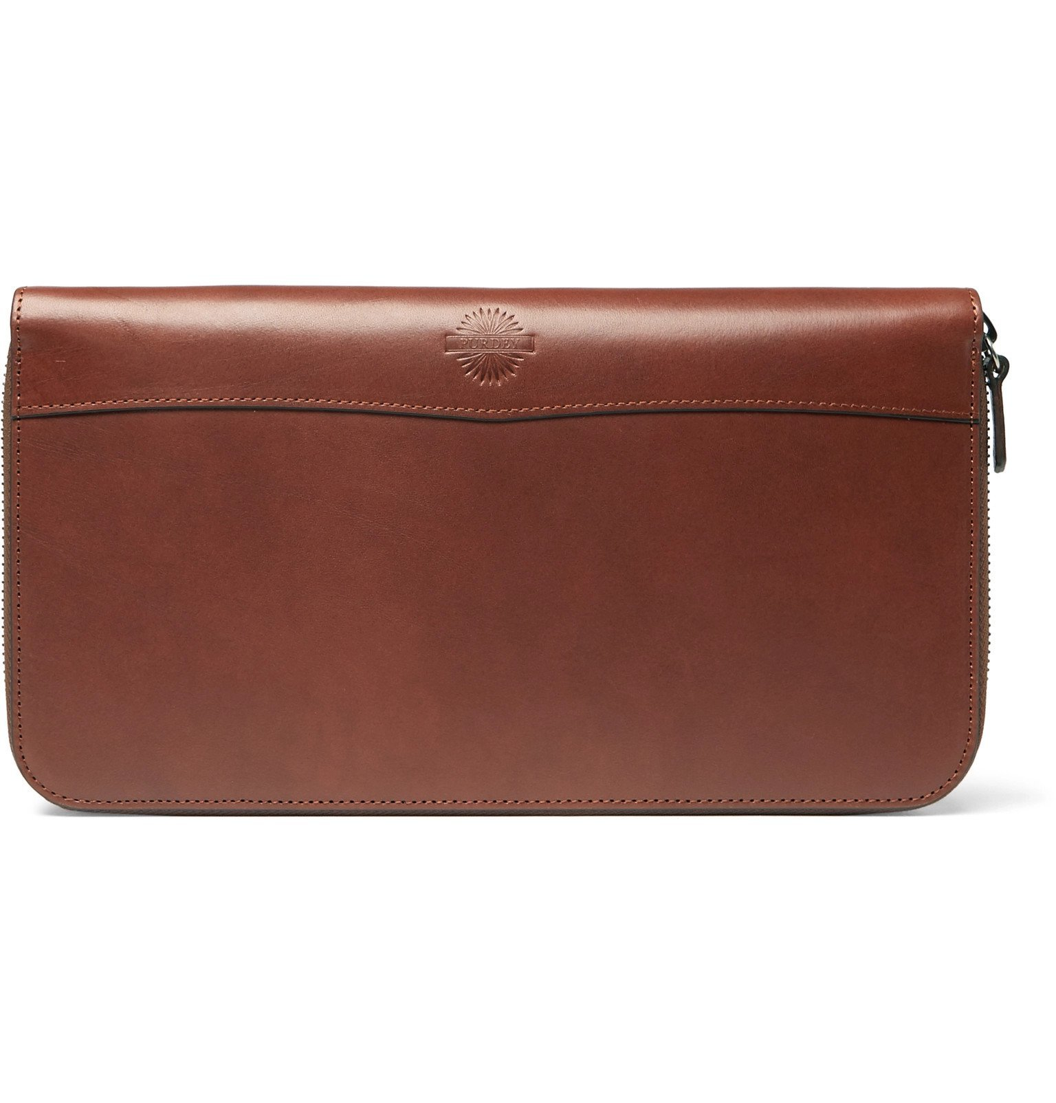Photo: James Purdey & Sons - Leather Travel Wallet - Brown